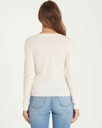 1 Take Me Higher Long Sleeve Tee Beige J424QBTA Billabong