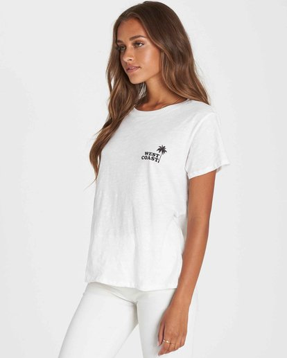 1 West Paradise Tee Beige J437PBWE Billabong