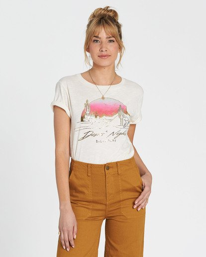 6 Desert Nights Tee White J437SBDE Billabong