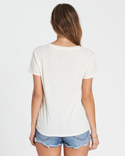 2 Dream With Me Tee White J437SBDR Billabong