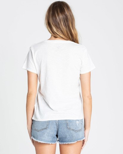 2 Blissed Out Tee Beige J437TBBL Billabong