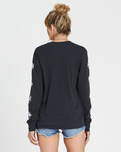 2 Since 73 Long Sleeve Tee Black J446SBSI Billabong