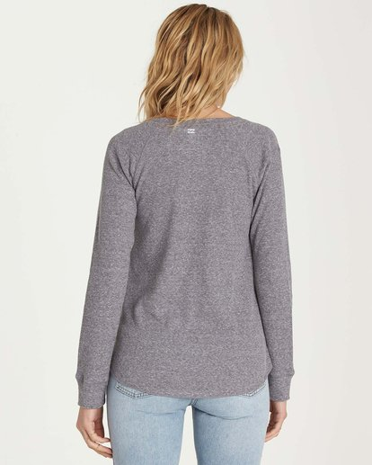 2 Natural Wonder Long Sleeve Tee Grey J447MNAT Billabong