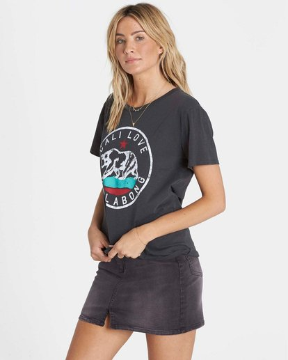 1 Cali Bear Love Tee  J467NBCA Billabong