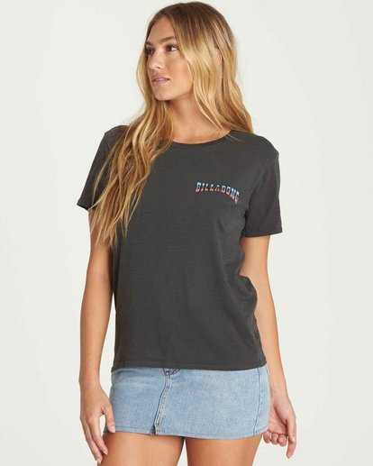 0 Star Spangled Tee Black J467PBST Billabong