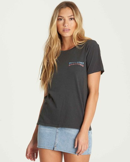1 Star Spangled Tee Black J467PBST Billabong