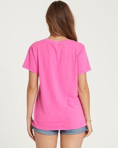 2 I'M A Rebel Tee Pink J467QBIM Billabong