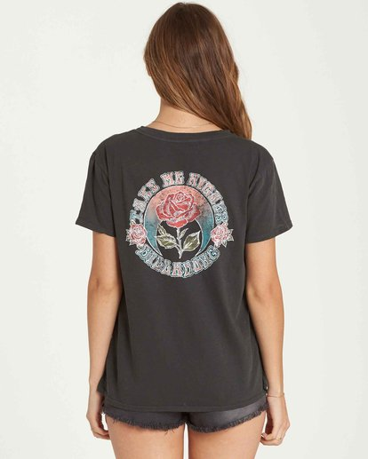 2 Take Me Higher Tee Black J467QBTA Billabong