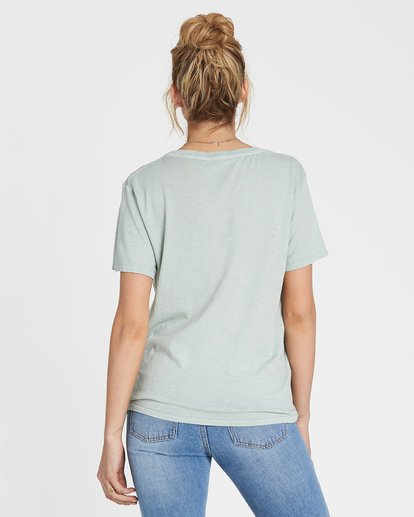 2 Wish You Were Here Tee Blue J467SBWI Billabong