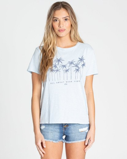 1 Good Vibes Tee Blue J467TBGO Billabong