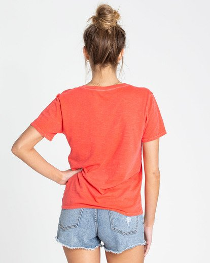2 Sun Your Buns Tee Red J467TBSU Billabong
