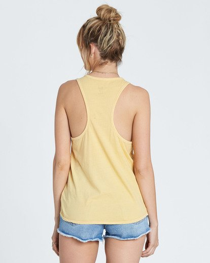 2 Coastal View Tank Yellow J479SBCO Billabong