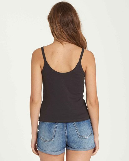3 Beach Please Tank Black J496QBBE Billabong