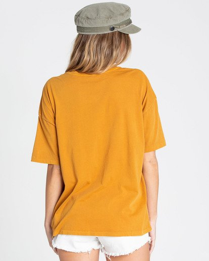 2 Golden Hour Tee Yellow J499TBGO Billabong