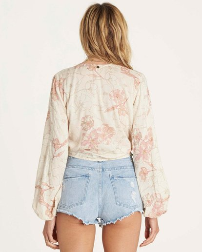 4 Breathe Light Top Beige J502NBBR Billabong