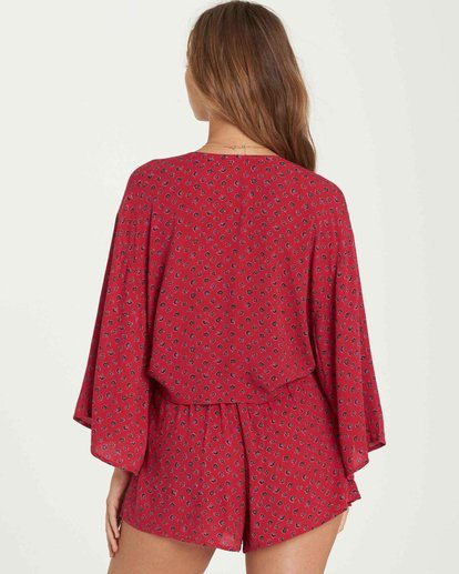 2 Knot Yours Wrap Top Red J502QBKN Billabong