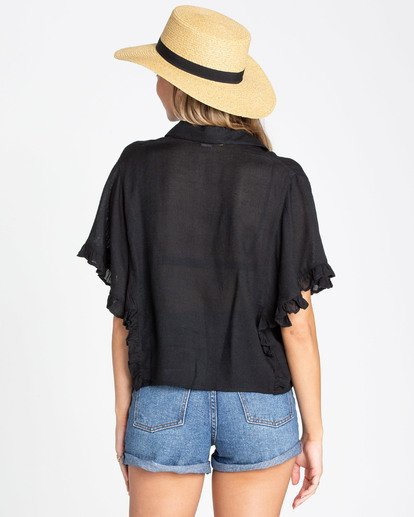 3 Find Me Blouse Black J514TBFI Billabong