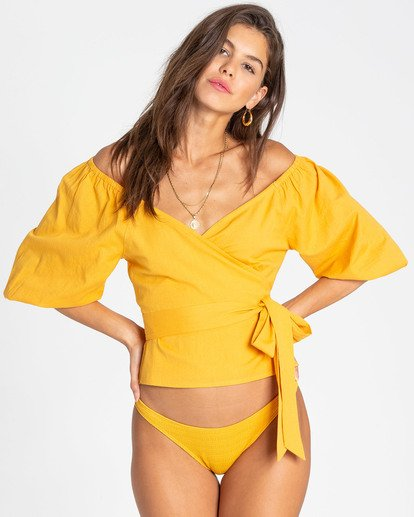 1 New Lust Wrap Top  J516TBNE Billabong