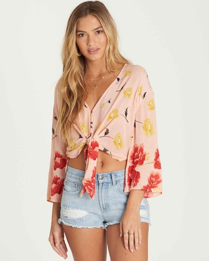 1 Desert Sunrise Top Orange J523PBDE Billabong