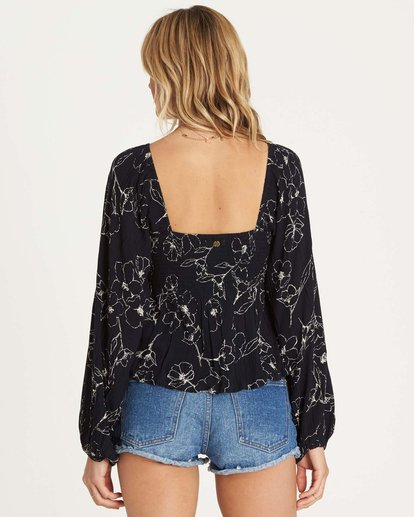 2 Spring Days Top Black J529NBSP Billabong