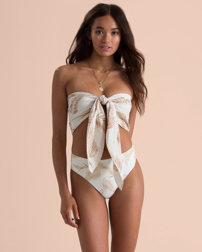 6 Sincerely Jules Sincerely Yours Bandeau Top White J530TBSI Billabong