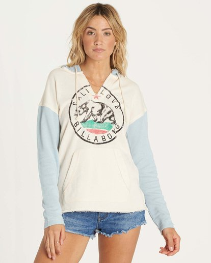 0 Days Off Pullover Hoodie Green J601NBDA Billabong