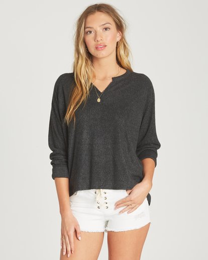 0 Beach Nights Fleece Grey J601TBBE Billabong