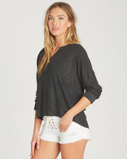 1 Beach Nights Fleece Grey J601TBBE Billabong