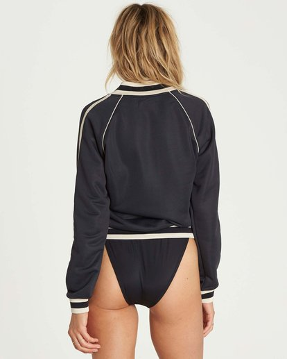 3 Locals Only Track Jacket  J604NBLO Billabong