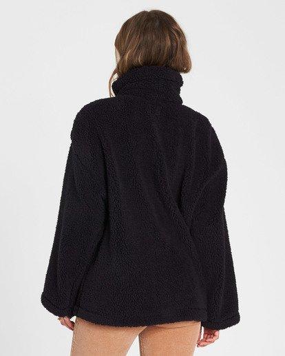 2 Cozy Days Sherpa Jacket Black J604SBCO Billabong