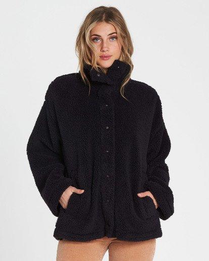 3 Cozy Days Sherpa Jacket Black J604SBCO Billabong