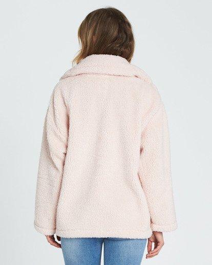 4 Cozy Days Sherpa Jacket Pink J604SBCO Billabong