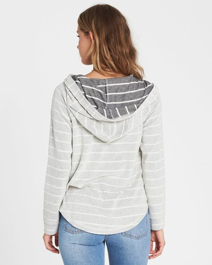 2 All Along Hoodie Grey J608SBAL Billabong
