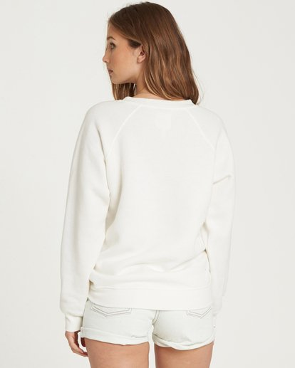 2 Take Me Away Crew Sweatshirt Beige J650QBTA Billabong