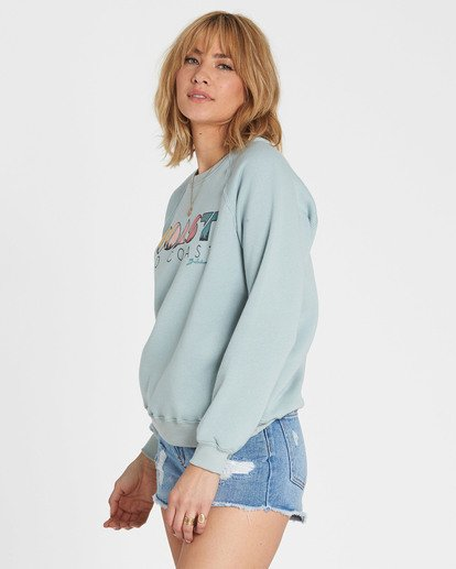 1 Coastal View Graphic Fleece Blue J650SBCO Billabong