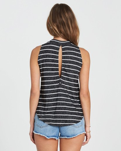 2 Go High Knit Tank Black J901SBGO Billabong