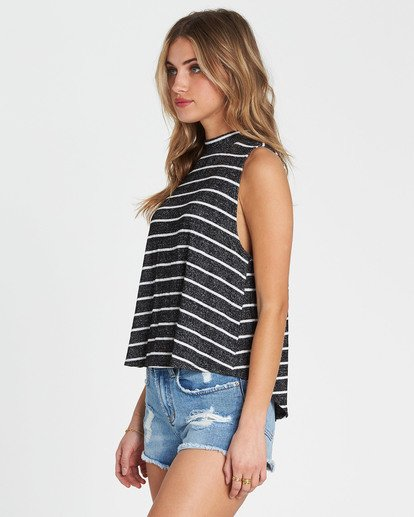 1 Go High Knit Tank Black J901SBGO Billabong