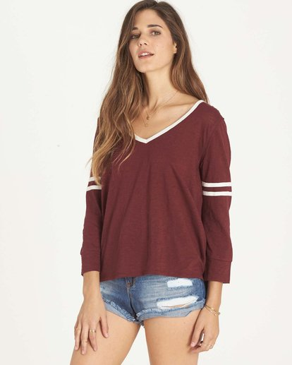 0 Get Back Top Red J911LGET Billabong