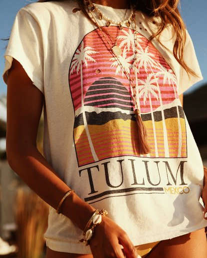 0 Sincerely Jules Perfect Boy Tee White J918TBPE Billabong
