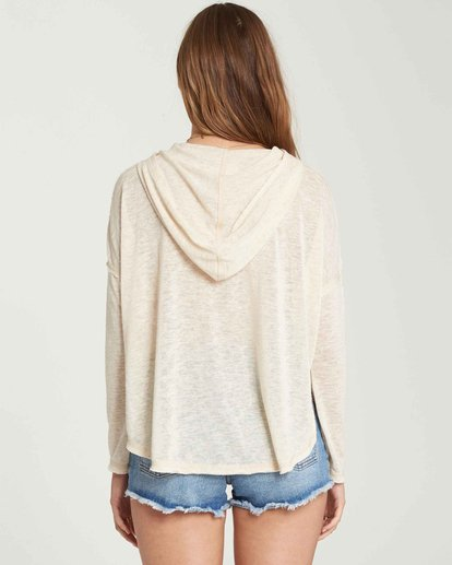 2 These Days Sweater Hoodie Beige J921QBTH Billabong