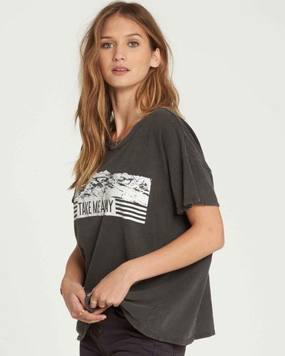 1 It Matters Boyfriend Tee Black J925QBIT Billabong