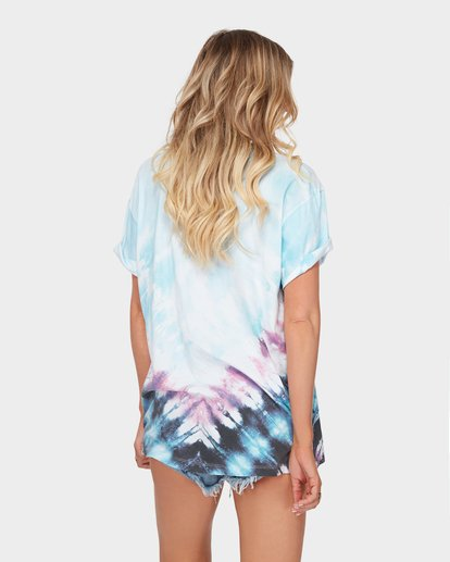 2 The Blue Crush Tee Blue J979SBBL Billabong