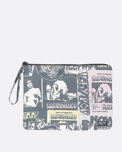 1 Women's Iggy Pop Canvas Pouch  JABGNBIG Billabong