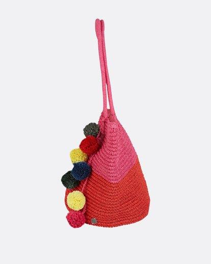 1 Heart N' Soul Straw Tote Bag Pink JABGPBHE Billabong