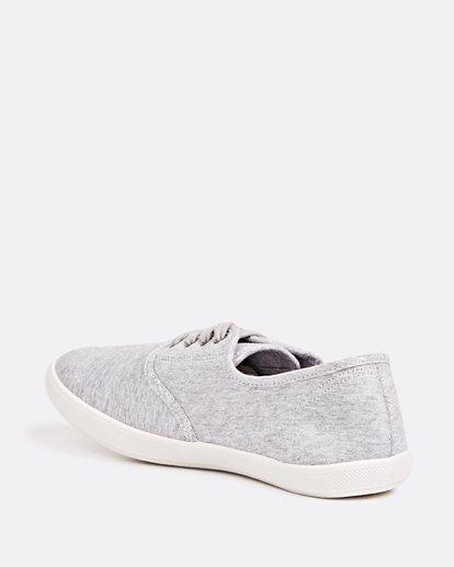 2 Addy Lace Up Shoe Grey JAFTLADD Billabong