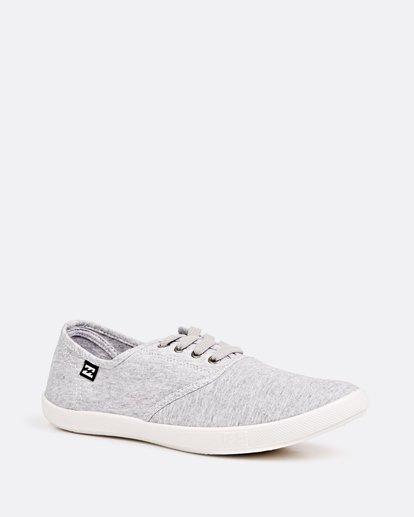 1 Addy Lace Up Shoe Grey JAFTLADD Billabong