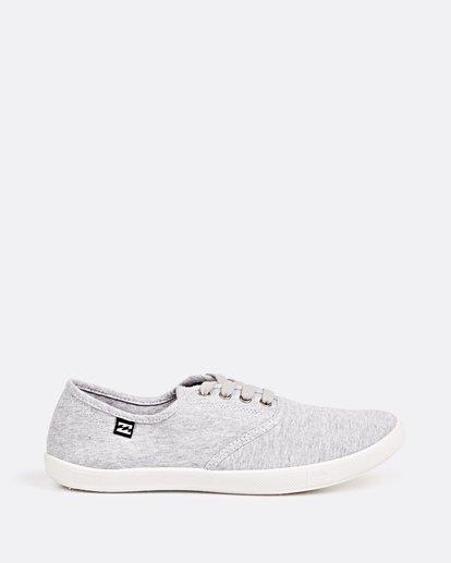 3 Addy Lace Up Shoe Grey JAFTLADD Billabong