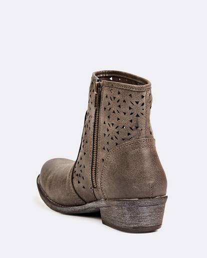 1 Bursting Sun Booties Brown JAFTLBUR Billabong