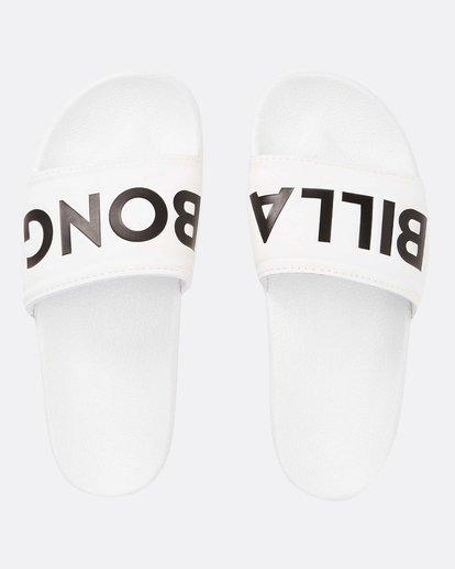 0 Legacy Slide Sandal White JAFTLLEG Billabong
