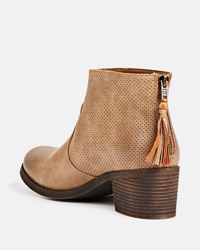 1 Talia Booties Beige JAFTLTAL Billabong